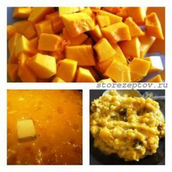 Рецепты приготовления тыквенной каши с рисом