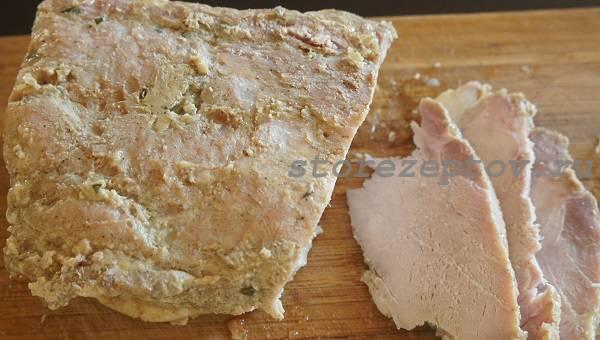 Домашняя буженина: простой рецепт с пошаговым фото и видео