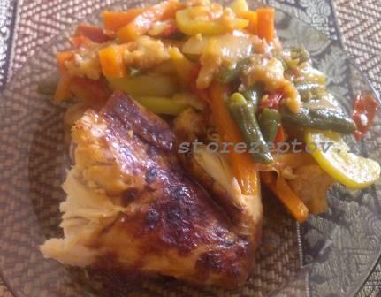 Диетическое вкусное овощное рагу с кабачками и капустой – фото и видео рецепт