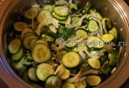 Смешанные для салата продукты