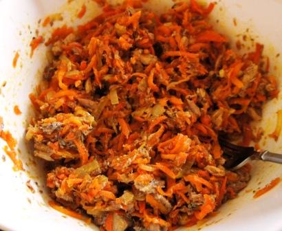 Готовый салат маринад