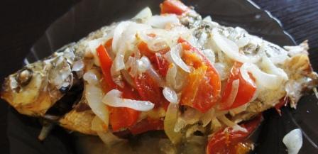 Рецепт запеченного леща в духовке в фольге: фото пошаговое