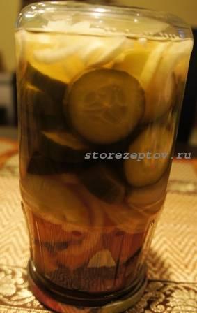 Рецепт + пошаговое фото овощного салата: помидоры, огурцы, лук, барбарис
