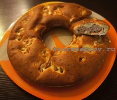 Быстрый мясной пирог с фаршем: пошаговый рецепт с фото