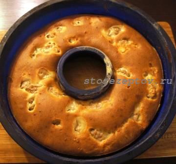 Быстро приготовленный мясной пирог