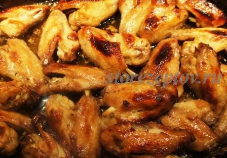 Кисло-сладкие крылышки: рецепт приготовления с пошаговыми фото