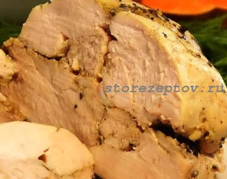 Куриная пастрома в духовке: пошаговый рецепт с фото