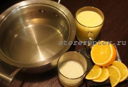 Ингредиенты для приготовления крюшона