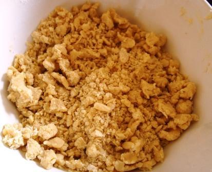 Почти готовое песочное тесто