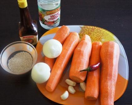 Морковь по-корейски: состав салата