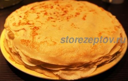 Заварное тесто для блинов на молоке или кефире: рецепт с фото пошаговым