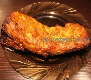 Приготовленная в духовке свинина