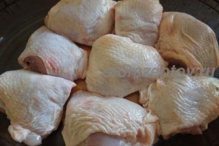 Куриные бедрышки для запекания в духовке с корочкой