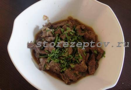 Мясо говядина в духовке в соусе: рецепт пошаговый с фото