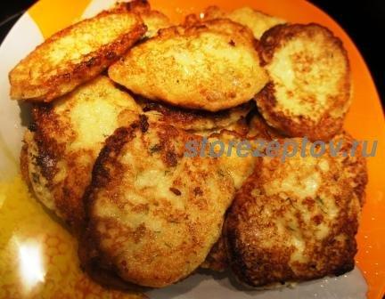 Простые оладьи из кабачков: рецепт с фото пошагово