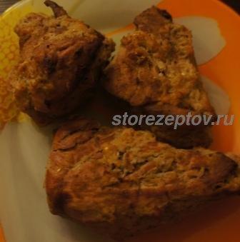 Рецепт буженины в горчице в духовке в рукаве с яблоками и имбирем + фото пошаговое