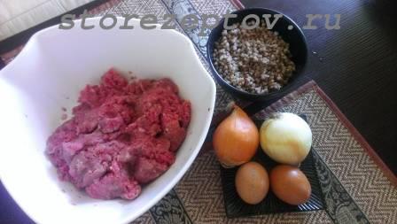 Необходимые ингредиенты для приготовления гречаников