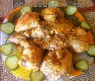 Курица в соусе: простой рецепт куриных кусочков на сковороде + фото