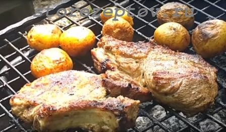 Антрекот с картошкой