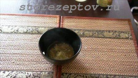 Перец с чесноком