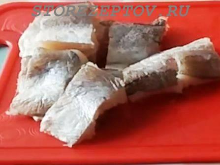 Филе рыбы для приготовления в кляре