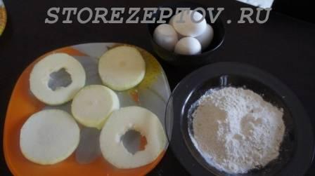 Продукты для приготовления кабачков с яйцами