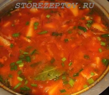 Как приготовить вкусный красный борщ - фото рецепт