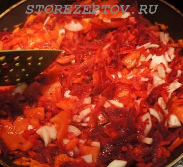 Пассировка овощей