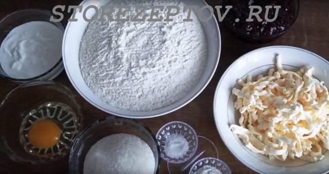 Продукты для песочного теста