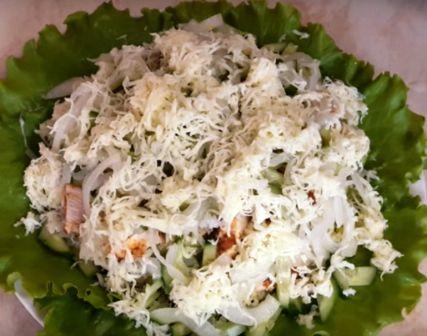Приготовление хрустящего салата