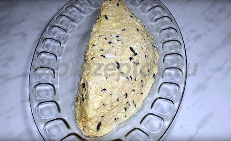 Основа салата арбузная долька