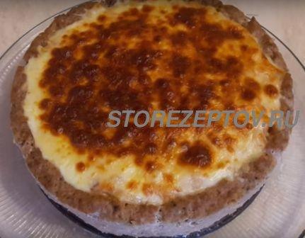 Рецепт запеканки из мясного фарша с макаронами и сыром