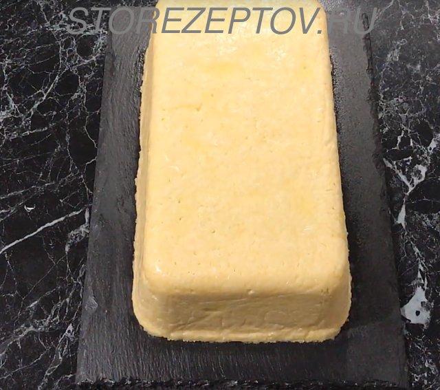 Салат в виде куска сыра Мужские слезы