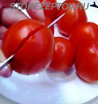 Как сделать из помидор тюльпан
