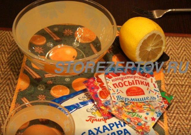 Ингредиенты для глазури на Пасхальный кулич