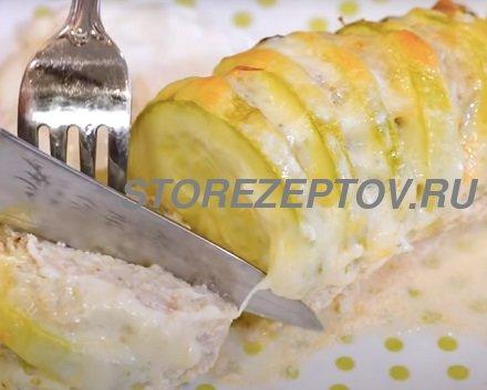 Вкусные кабачки вместо голубцов с фаршем в духовке: рецепт с фото